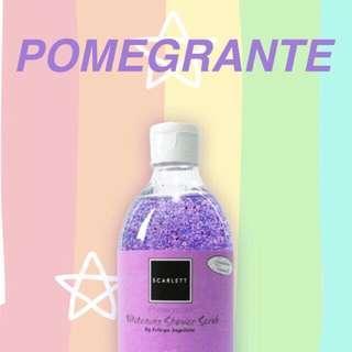 Whitening shower scrub BPOM
