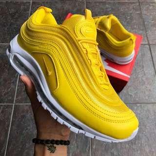 Nike Airmax 97 Yellow Size 36-40😍