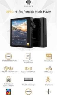 Hidizs AP80 :Next Generation Ultraportable Hifi Music Player
