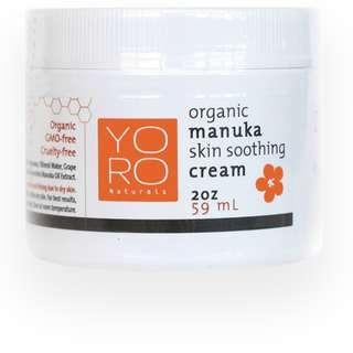 Organic Manuka Skin Soothing Cream 59ml/2oz