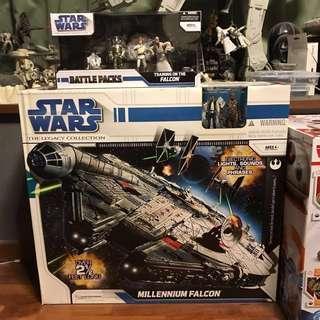 Star Wars Legacy Collection Millennium Falcon Set