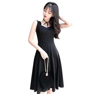 Elegant Dinner Dress (Black)