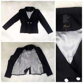 Black Formal Blazer By Guest SALE 100.000