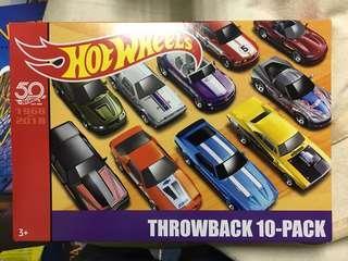 Hotwheels 50th Anniversary 10-pack