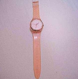 Swatch Pink transparan