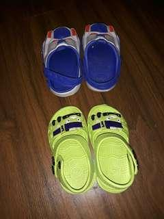 Sepatu karet baby 12 bulan