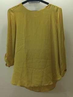 Atmosphere Mustard Blouse (UK Brand)