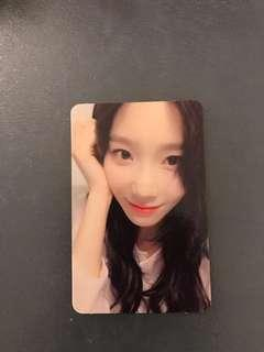 Taeyeon Photocard (My Voice Deluxe Edition)