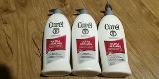 Curel Ultra Healing Body Lotion - Intensive Lotion for Extra Dry, Tight Skin. Made in USA
