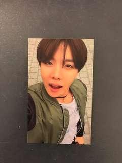 BTS J-hope Photocard HYYH pt.2
