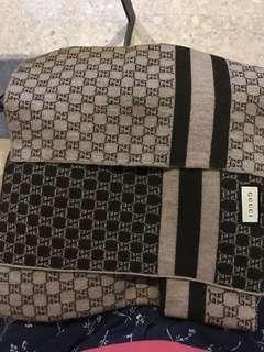 Gucci Unisex WGucci Unisex Wool Double Side Scarf