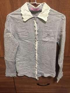 🚚 蕾絲薄襯衫
