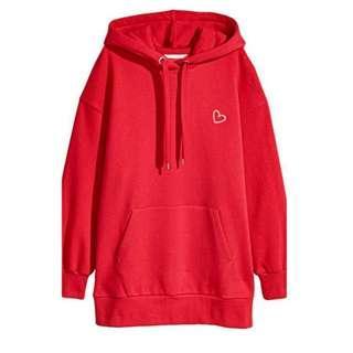 H&M mini heart hoodie jacket 🤩