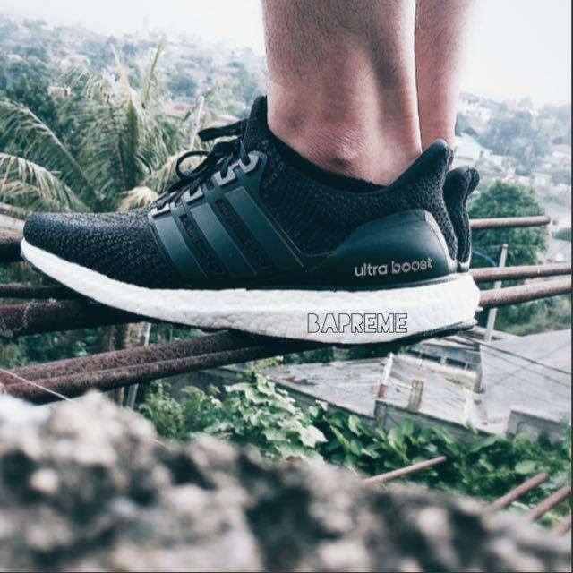 147f390b1 Adidas Ultra Boost UB Core Black 2.0 Ultraboost