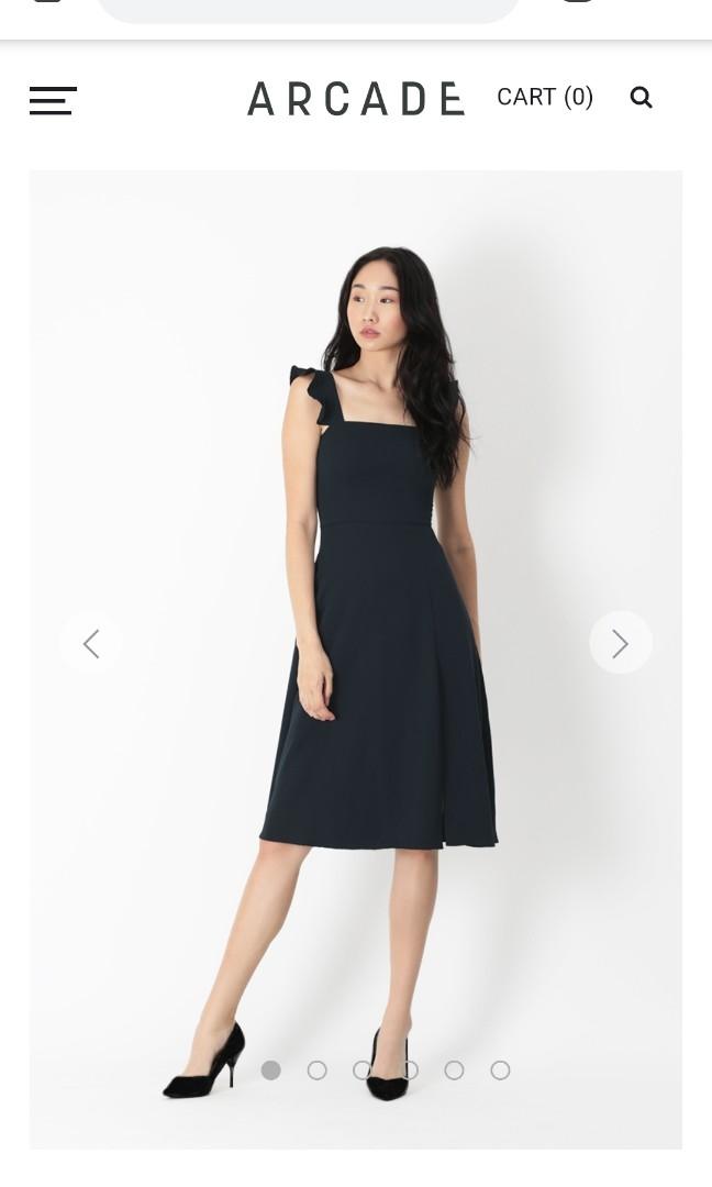 c4f25f82591093 AFA Madeline flutter sleeve dress, Women's Fashion, Clothes, Dresses ...