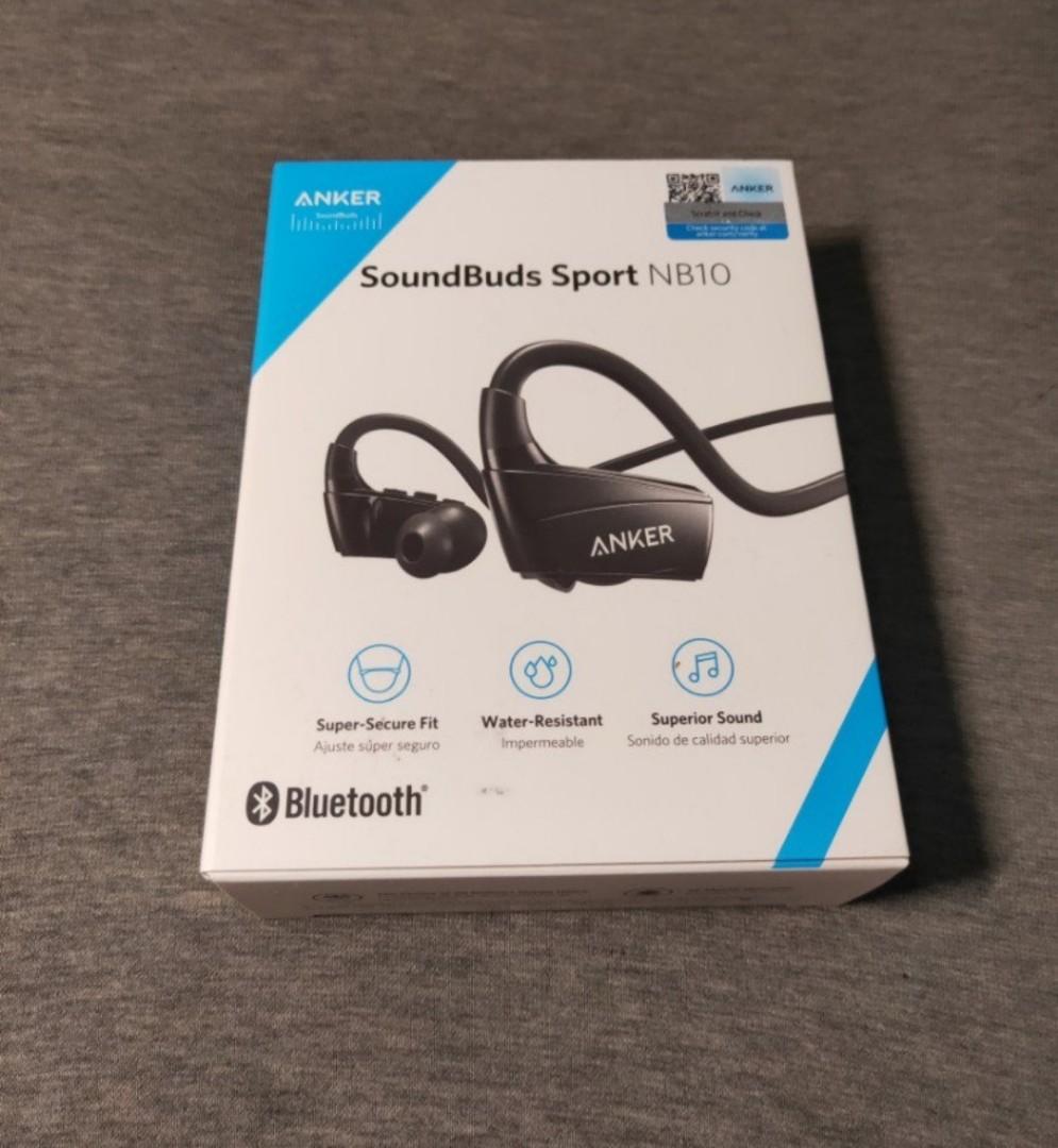 108ea816d13 Anker Soundbuds Sport NB10, Electronics, Audio on Carousell