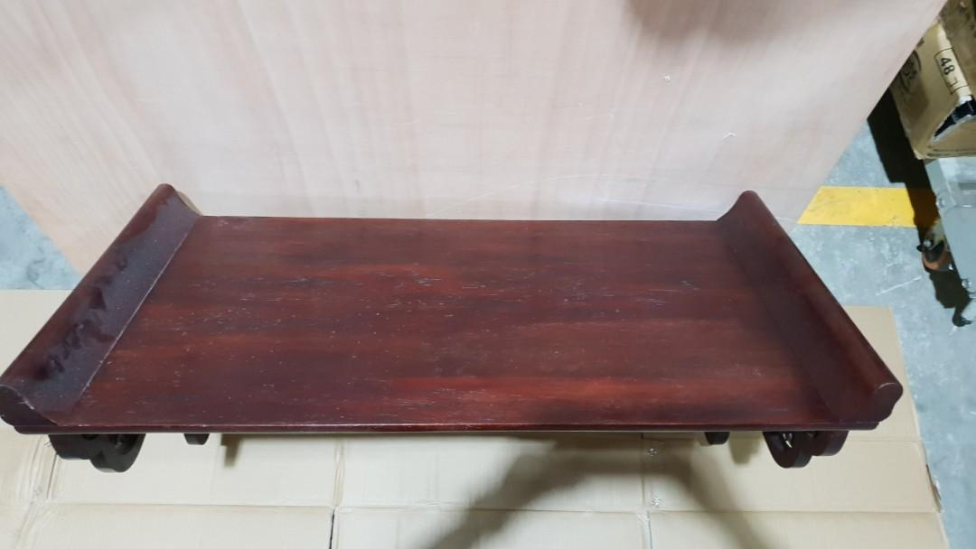 Antique Rosewood Shelf