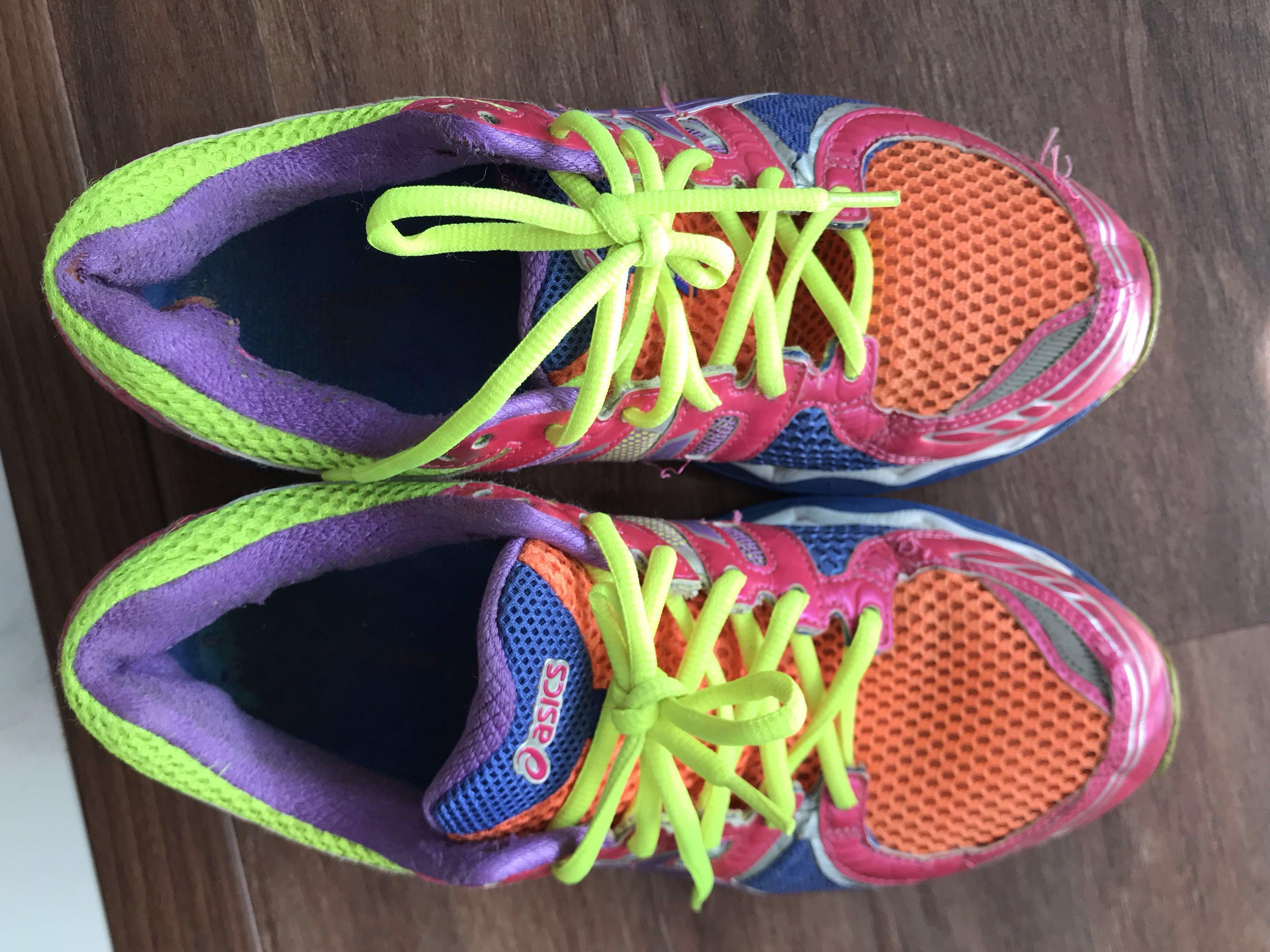 ladies asics nimbus running shoes