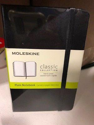 AUTHENTIC MOLESKINE CHEAP!! Classic A5 size softcover