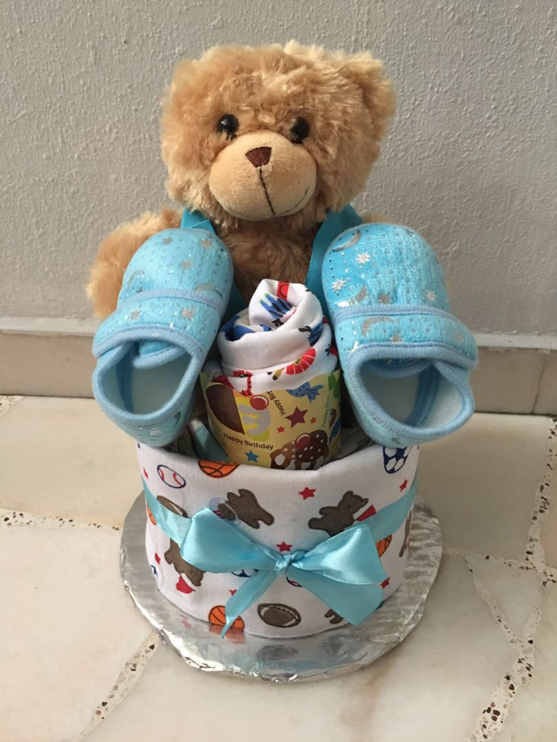 7399eb66195 Baby Diaper Cake for full month gift or baby visits gift offer ...