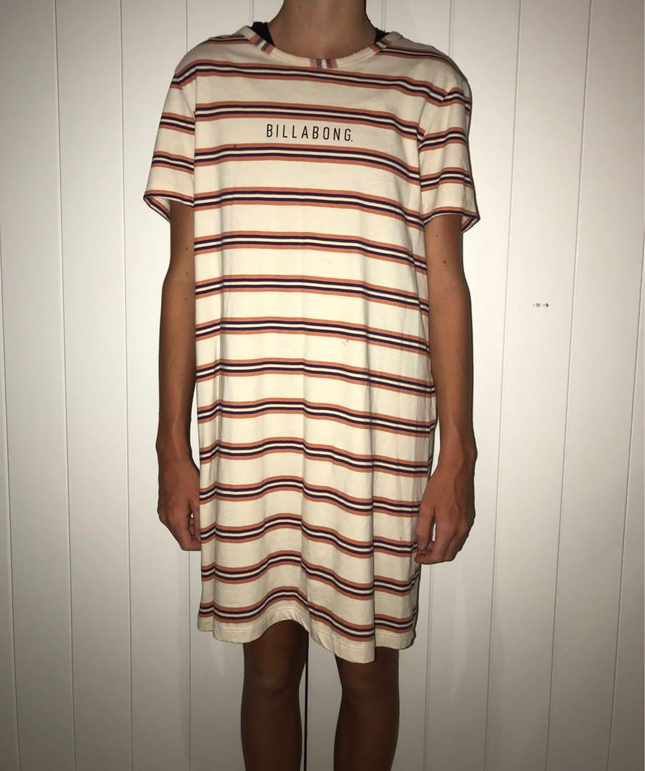 Billabong T-shirt dress size 10 $25