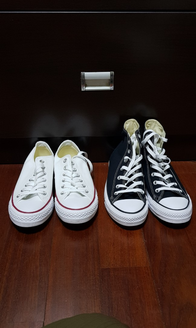e7cae02a08b Black Converse Shoes High cut