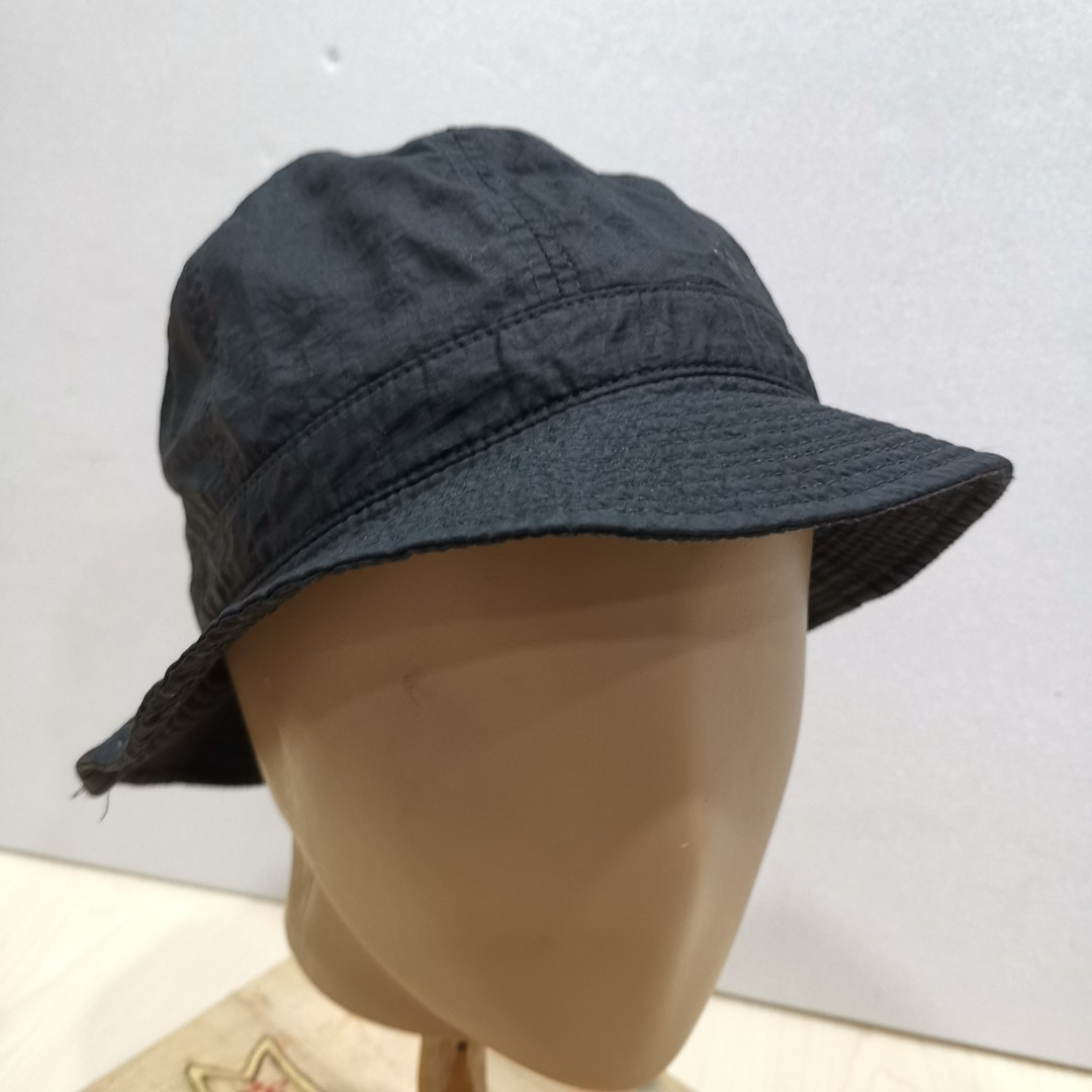Black Polyester Bucket Hat 5a8a77ef87