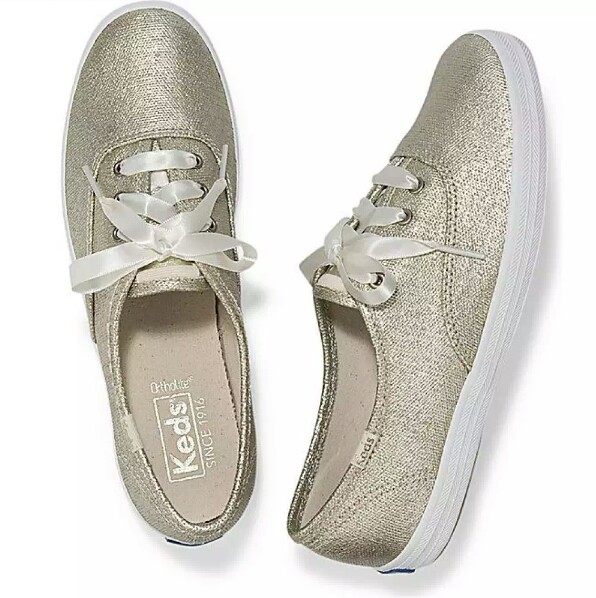 60bad0ae81626 Brand New Authentic Keds Champion Matte Brushed Metallic Women s ...