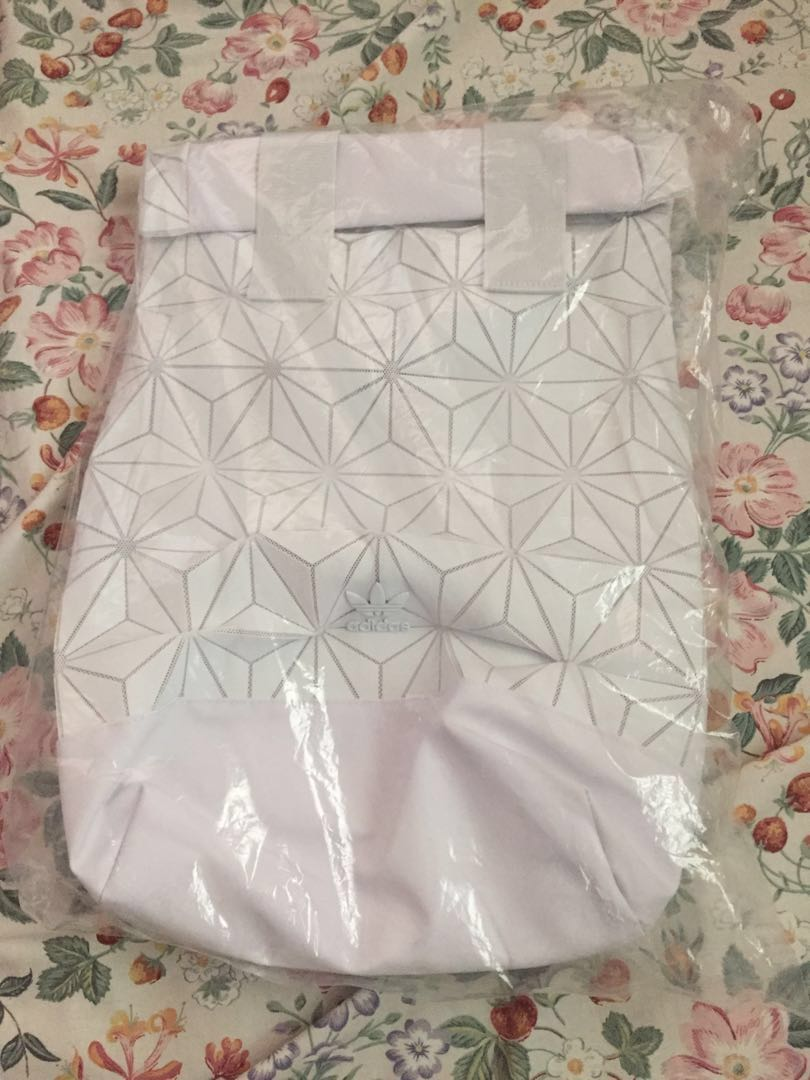 da7d6540f98d Brand new with tag white Adidas Issey Miyake bao bao backpack bag ...