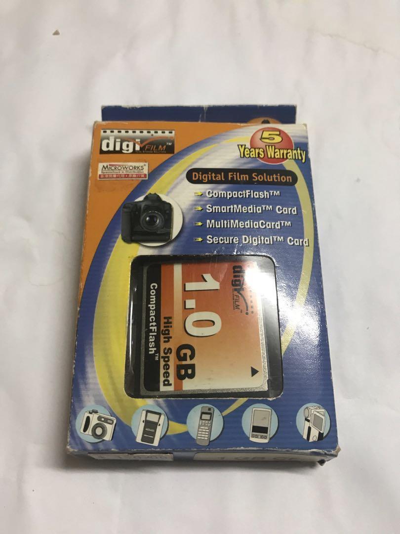 CF Card 1GB