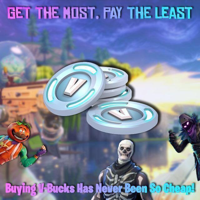 Cheapest Fortnite Vbucks All Platforms Toys Games Video