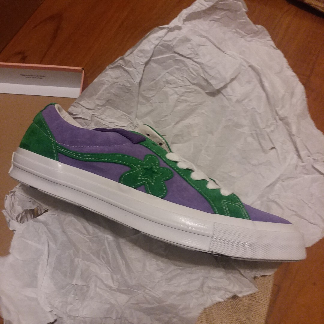 026a1d21d53c Converse Golf Golf LE Fleur Joker Purple heart   Jolly Green
