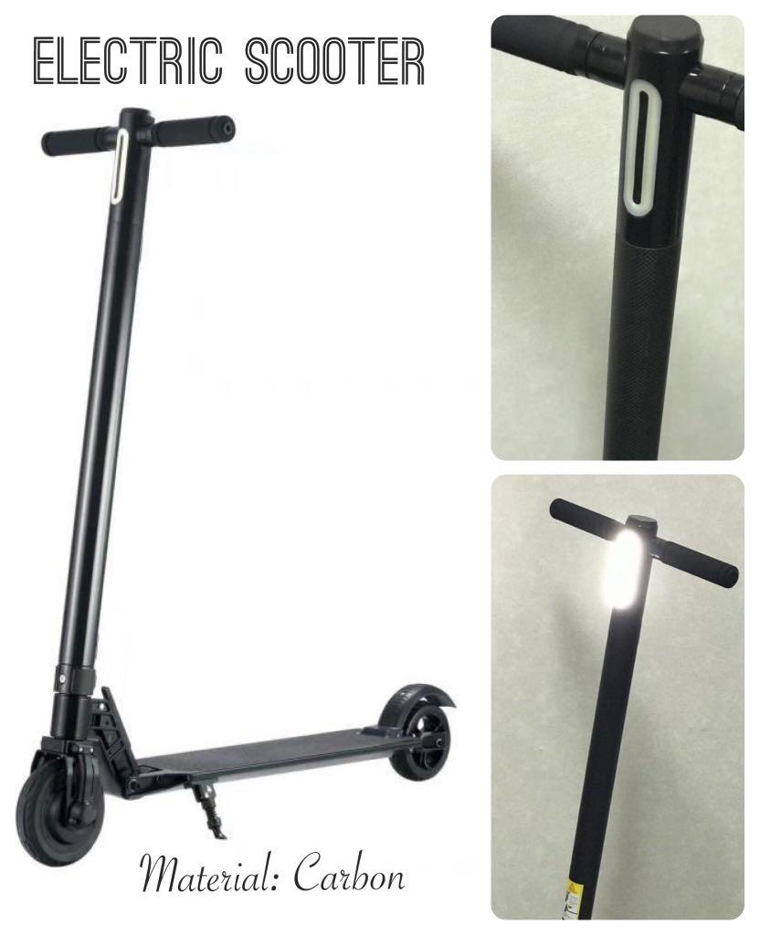 Electric Scooter (Material Carbon)