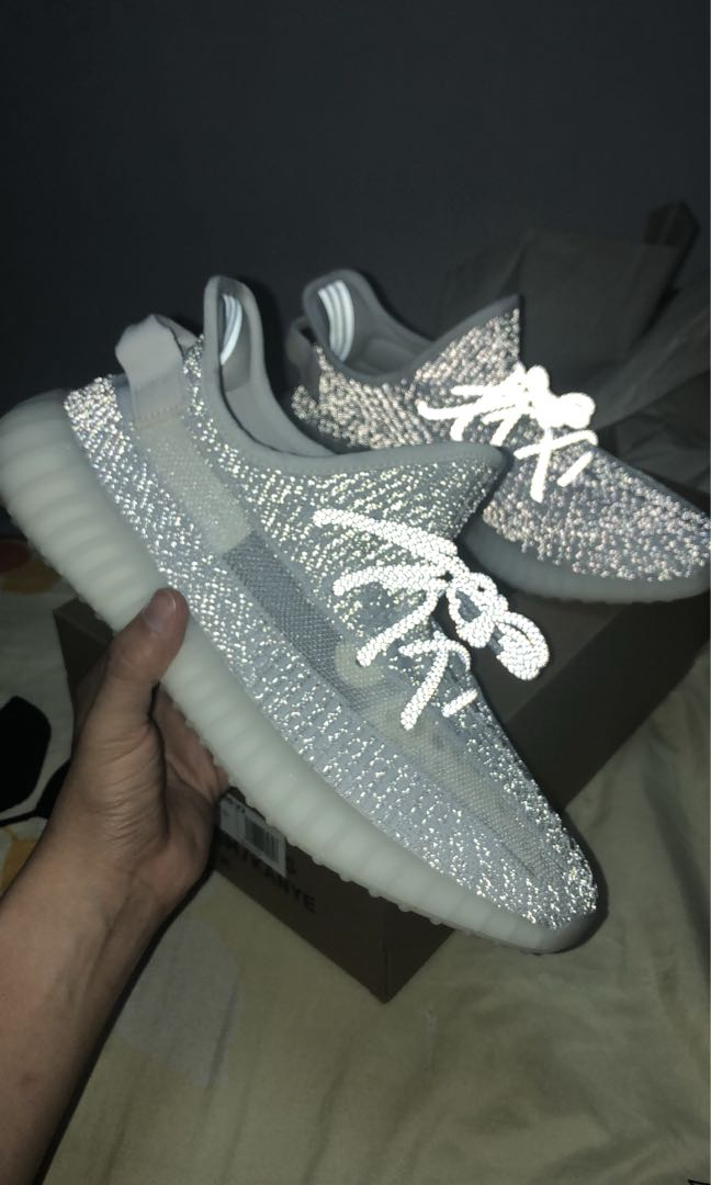 fa3b4e1e5efd2 Exclusive Yeezy Boost 350 V2 Static 3M Reflective