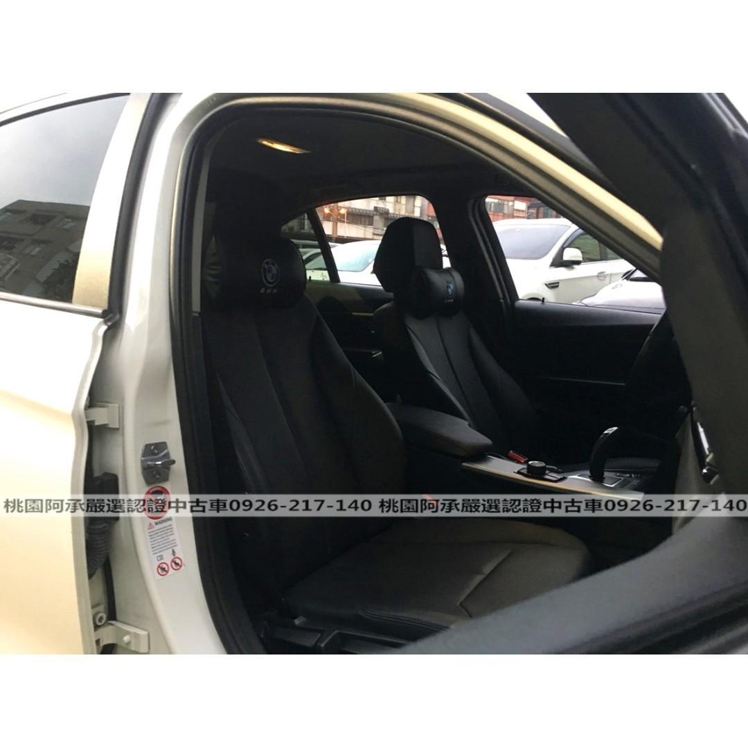 【FB搜尋桃園阿承】寶馬 超人氣316I跑5萬 2013年 1.6 白色 二手車 中古車