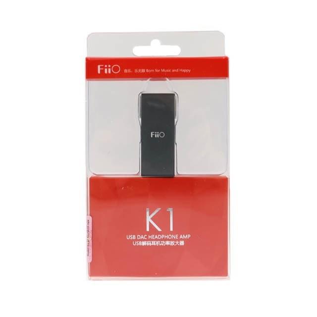 FiiO K1 USB DAC Amp - Free USB Type B to C Cable