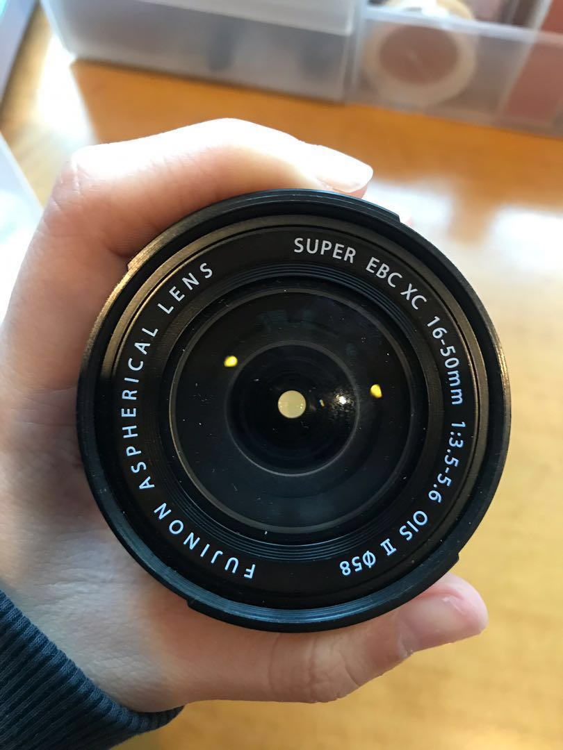 Fujifilm 16-50mm lenses