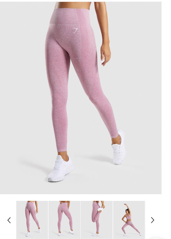 Gymshark Dusky Pink Seamless