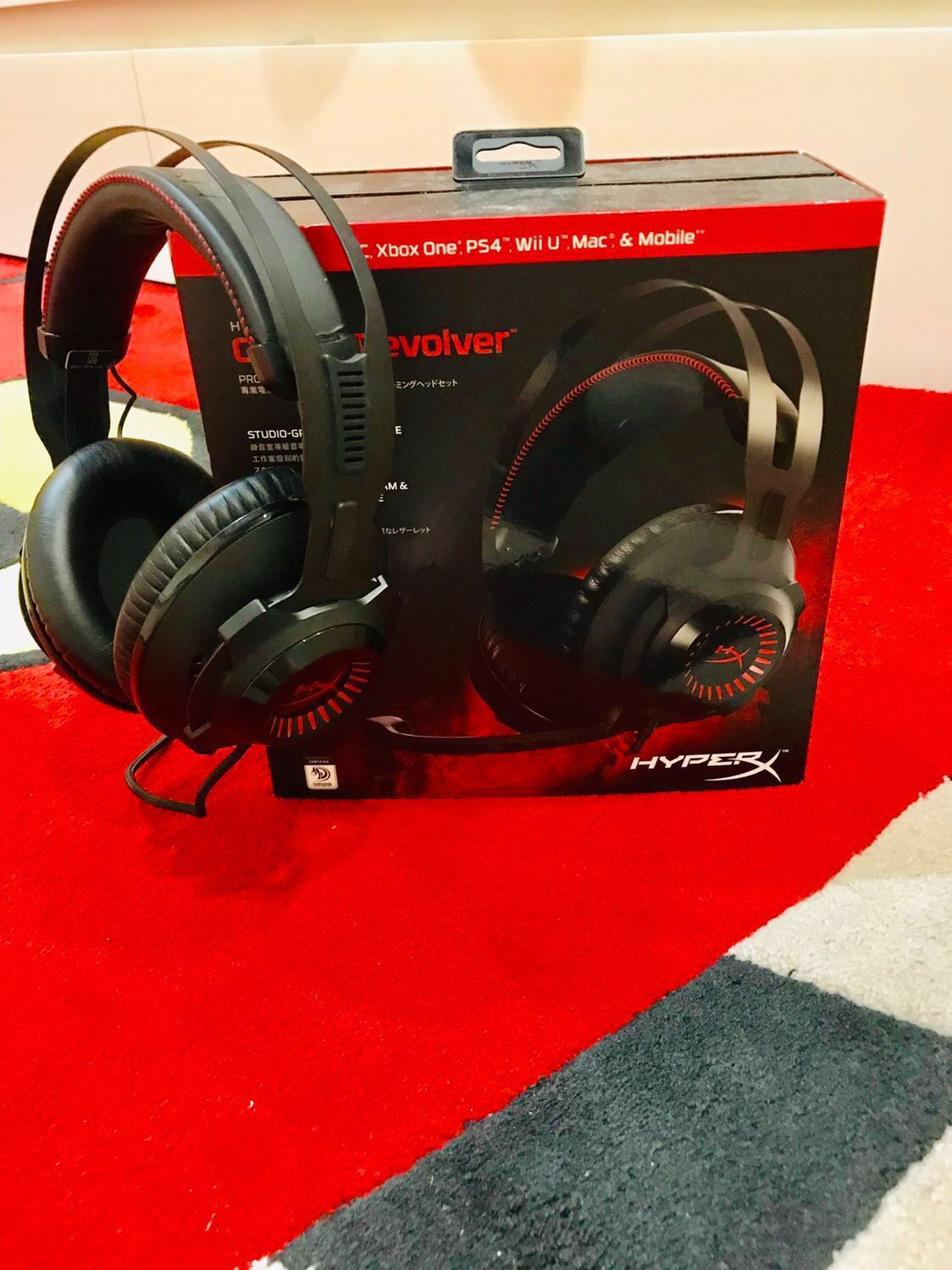1735d2d8ac7 HyperX Cloud Revolver Gaming Headset for Sale!, Electronics, Audio ...