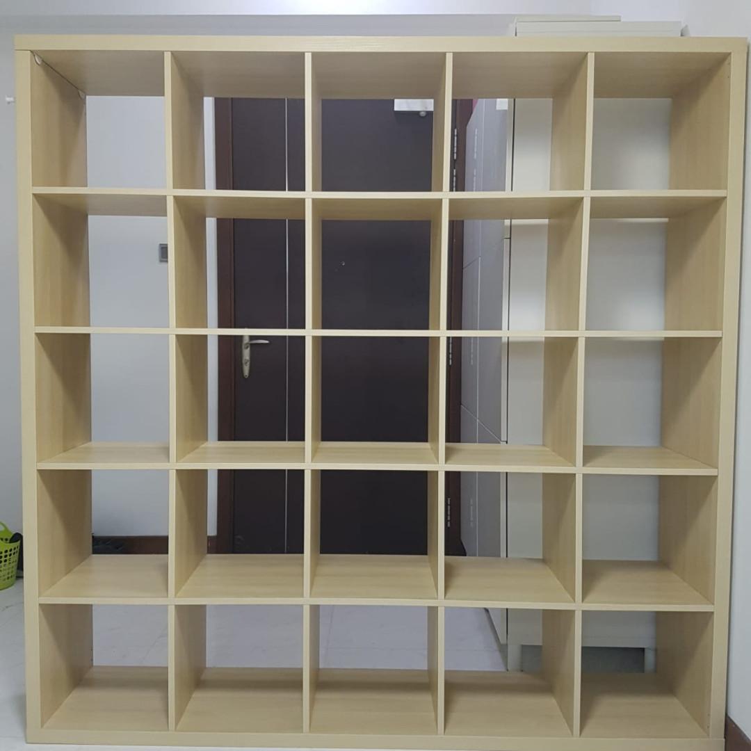 ikea kallax expedit bookcase shelving unit, furniture, shelves