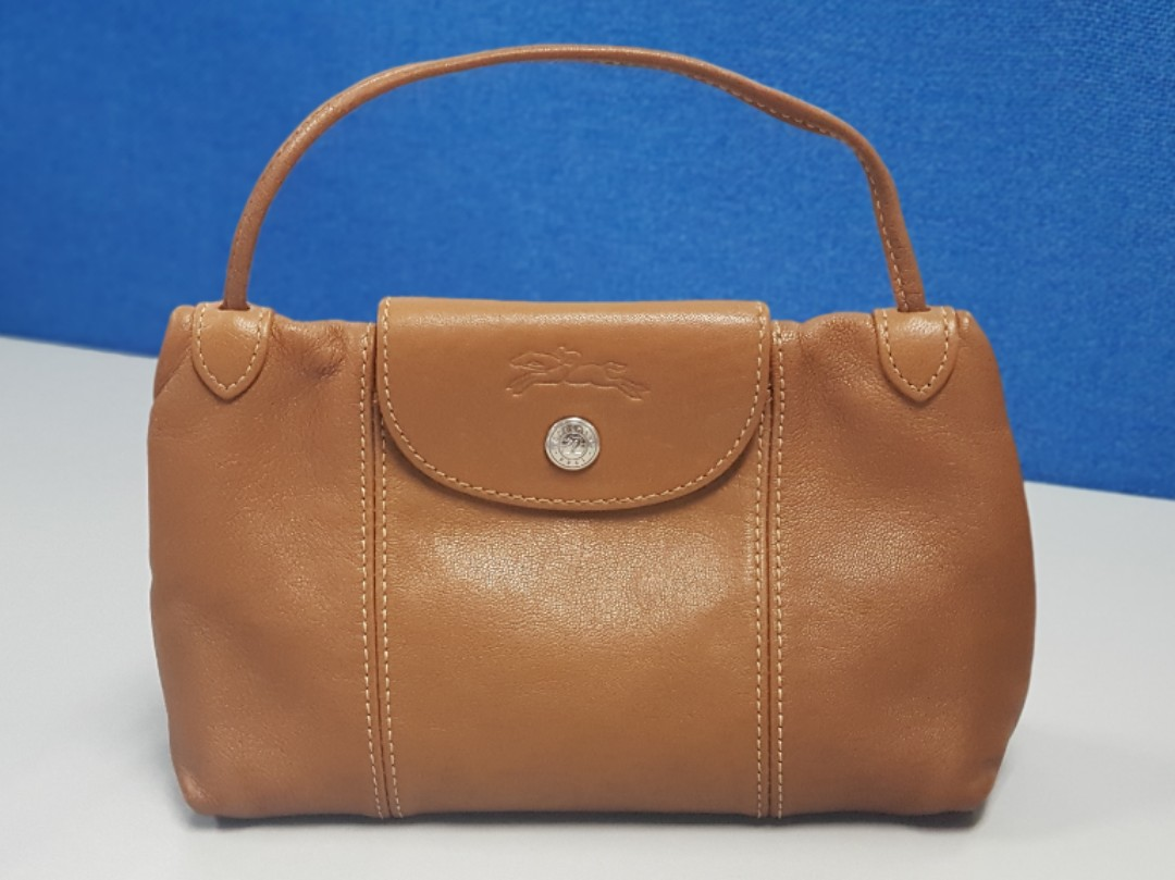 2659a7ad619f Longchamp Le Pliage Cuir Crossbody Bag Leather