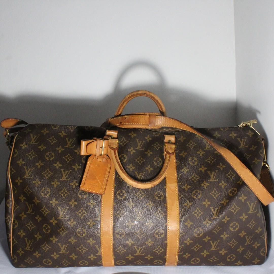 98cbde719787 Louis Vuitton Monogram Keepall