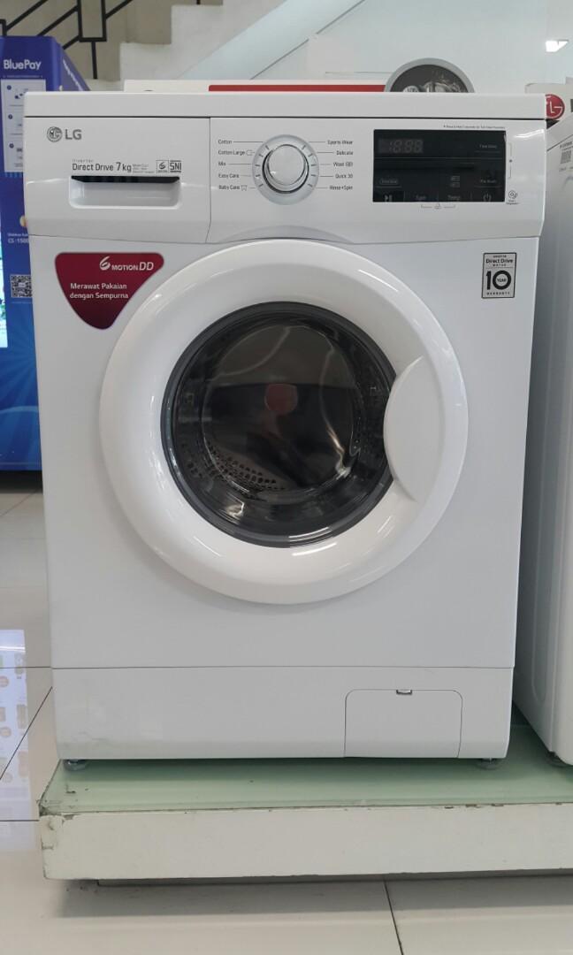 Mesin Cuci Front Loading LG 7Kg