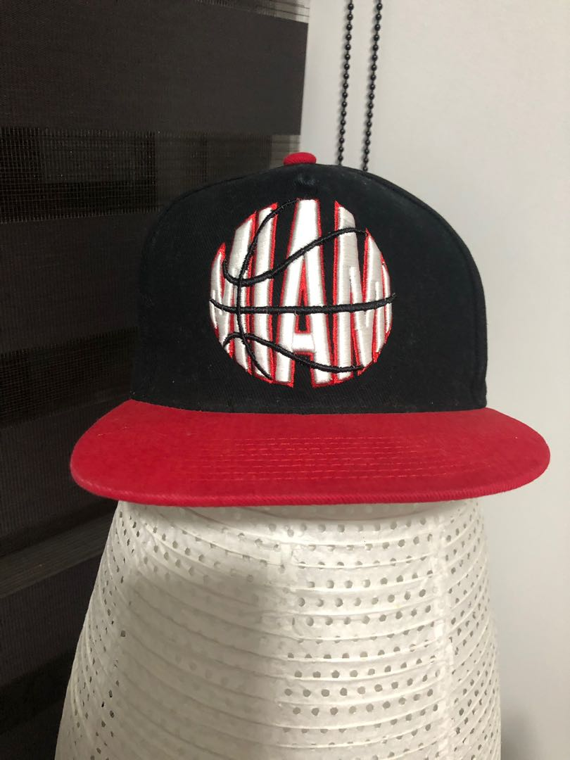 d682aca7 Miami Cap, Men's Fashion, Accessories, Caps & Hats on Carousell