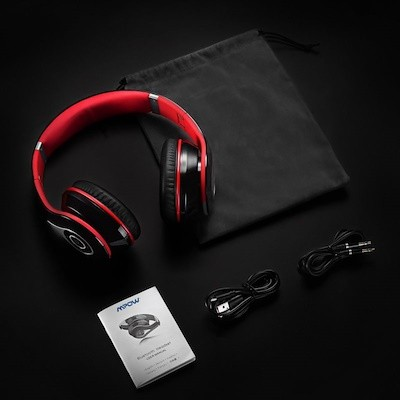 caecfed23a31ab Mpow 059 Bluetooth Headphones Over Ear, Hi-Fi Stereo Wireless Headset,  Foldable, Soft Memory-Protein Earmuffs, w/ Built-in Mic and Wired Mode for  PC/ Cell ...