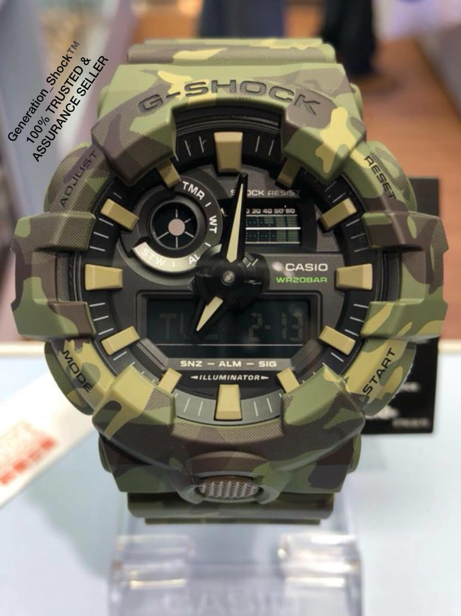b9f47390696e NEW🌟ARRIVAL in GSHOCK 200m DiVER WATCH   1-YEAR OFFICIAL WARRANTY ...