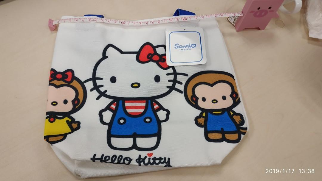 😻(New) Hello Kitty 午餐手挽袋 Lunch bag