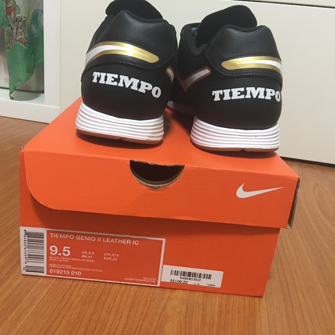 low cost 9168f 602f6 Nike Tiempo Genio Leather soccer shoes, Men s Fashion, Footwear, Boots on  Carousell
