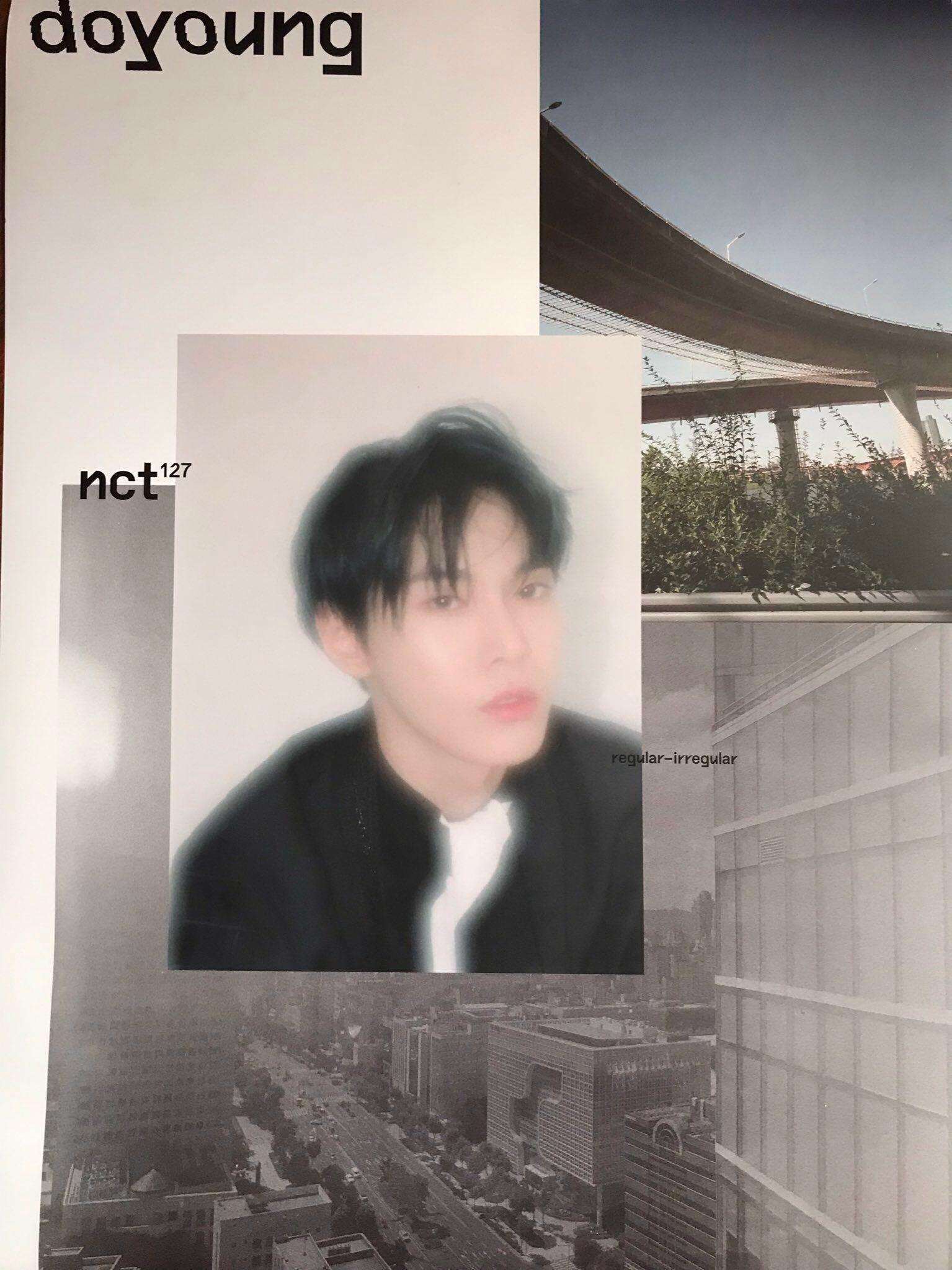 [OFFICIAL] [WTS] NCT 127 Regular-Irregular Poster (DOYOUNG)