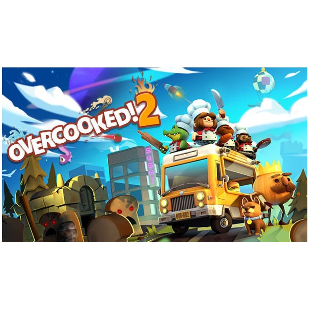 Overcooked 2 Brand New, Sealed and IN STOCK <3